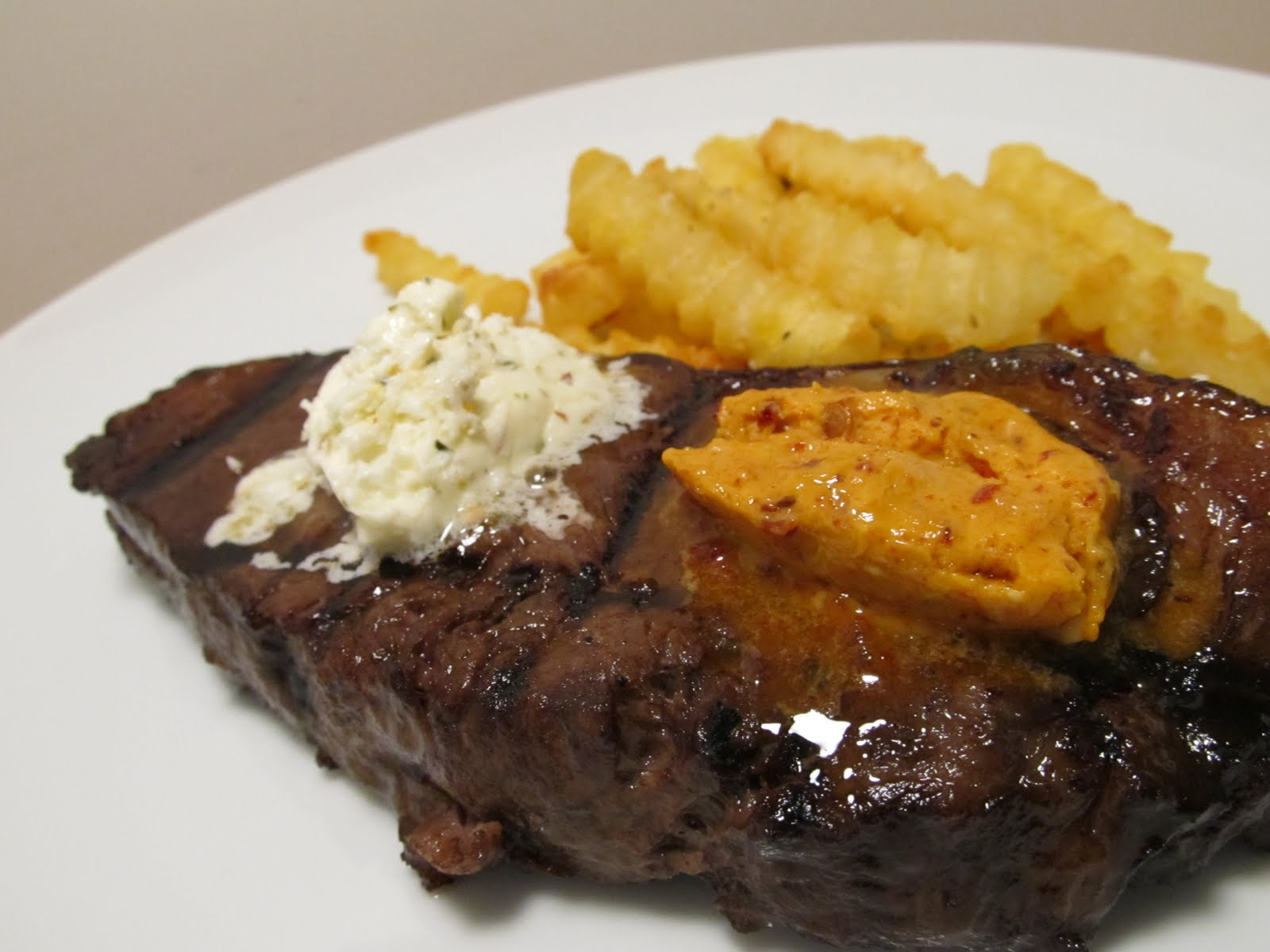 Jenn's Food Journey: Grilled Steaks with Chipotle Butter ...