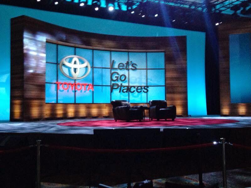 Lipton Toyota Toyota National Dealer Meeting 2014