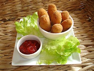 Croquettes De Viande De Volaille Aux œufs