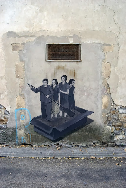 Part II of Hyuro's Street Art On The Streets Of Arles, France. 3