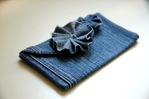 Tailor made fringe eco fair wednesday june 20th for Jeans upcycling ideas