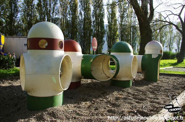 Voreppe - Aire de Jeux de la Station Service  Sculpteurs: Les Simonnet sculpteurs