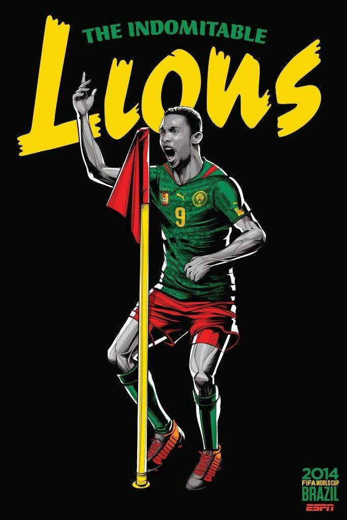 Cameroon Team FIFA 2014
