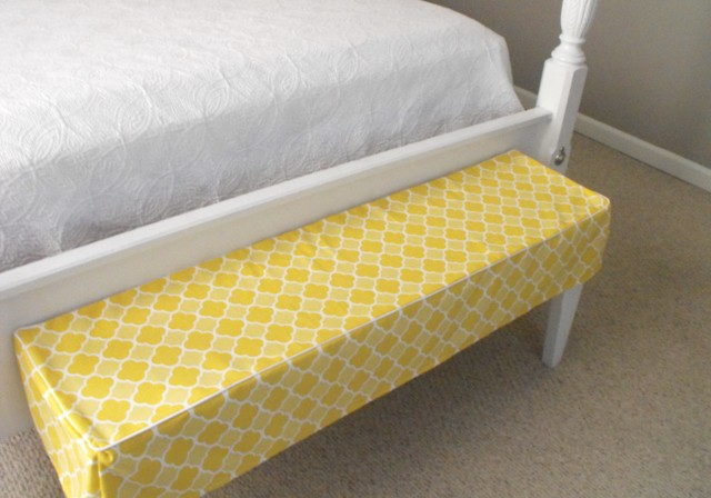 bed bench diy