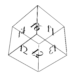 3D cube Skeleton