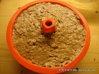Choco Rose - Torta con cioccolato, pere e nocciole