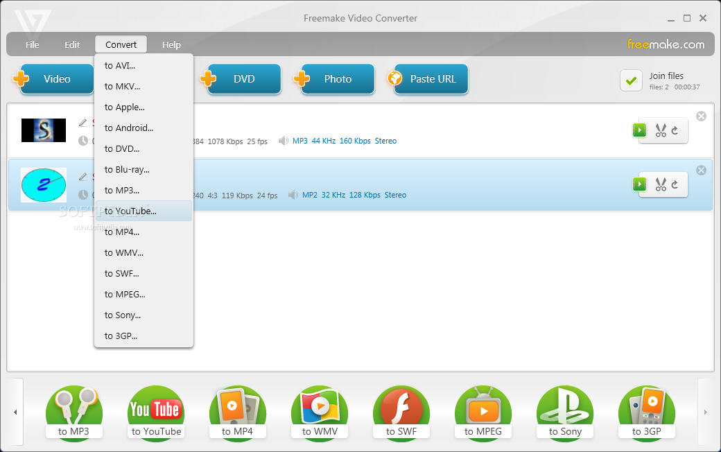 Freemake video converter 2.1.1.0 : baaperri