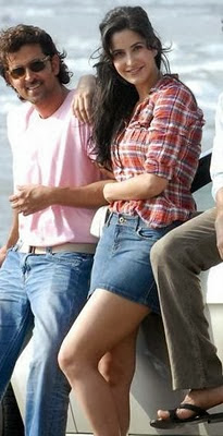 Katrina Kaif in Mini, Shorts and Western Dresses, Real life Pictures
