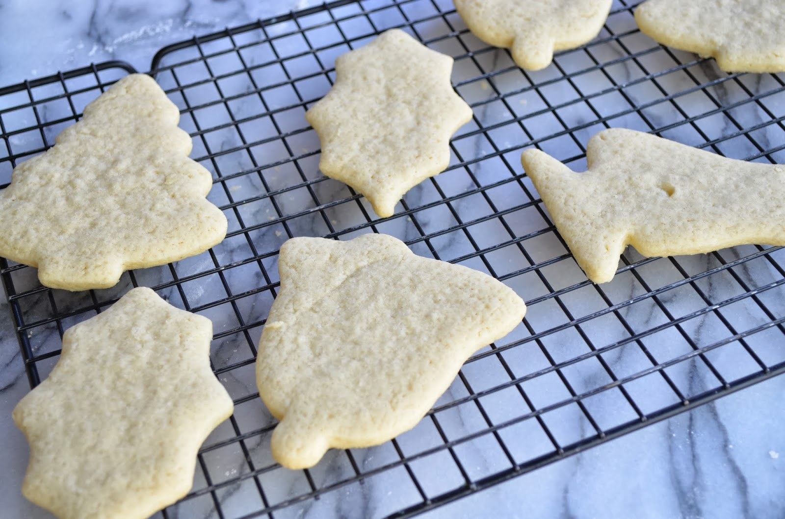Christmas cookies - cooling.