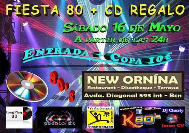 Flyer Fiesta 80 + CD de Regalo
