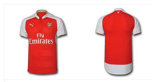 Arsenal launch new kit for 2015-16 season (PHOTOS)