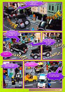 Brickómic 1, página 1
