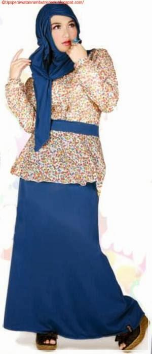 Gambar Model Baju Gamis Pesta Terbaru