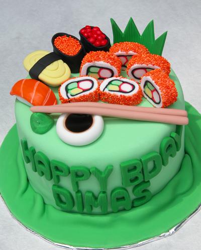 Sushi Birthday Cake Jakarta