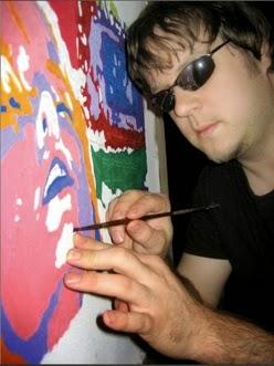John Bramblitt Palette Knife Painting From A Blind Artist - Blind artist
