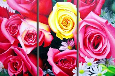 flores-en-triptico