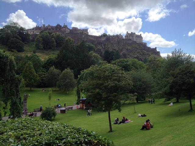 Vista West Princes Street Gardens a Edimburgo