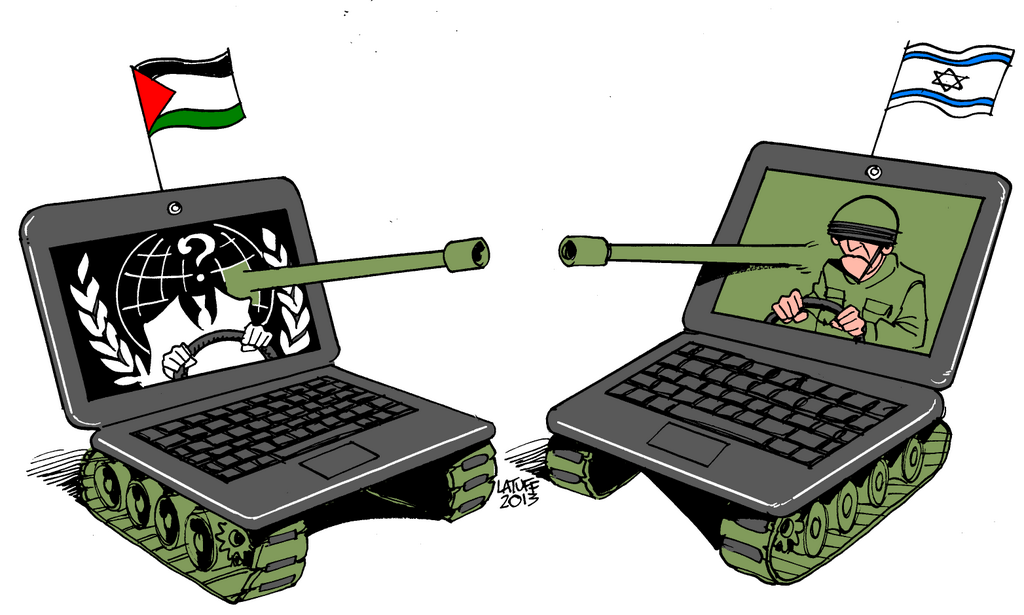 Anonymous brings down Israeli Government website over Gaza Invasion