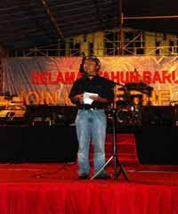 Yusri Fajar Baca Puisi