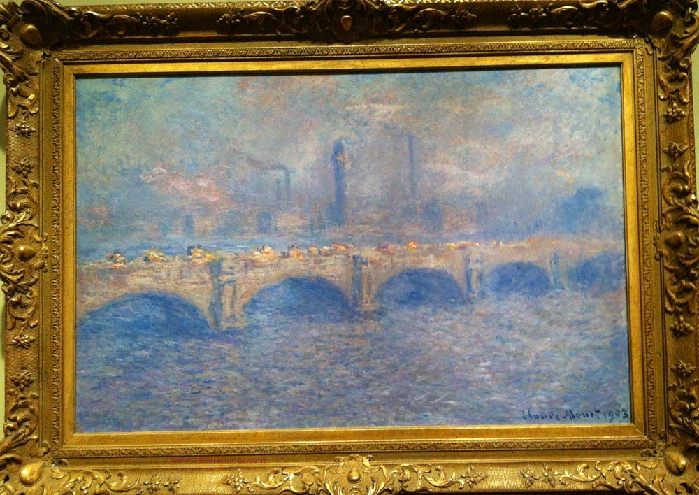 Claude Monet- Waterloo Bridge, sunlight effect
