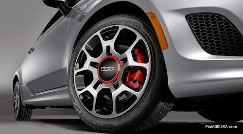 2015 Fiat 500 Turbo Wheel