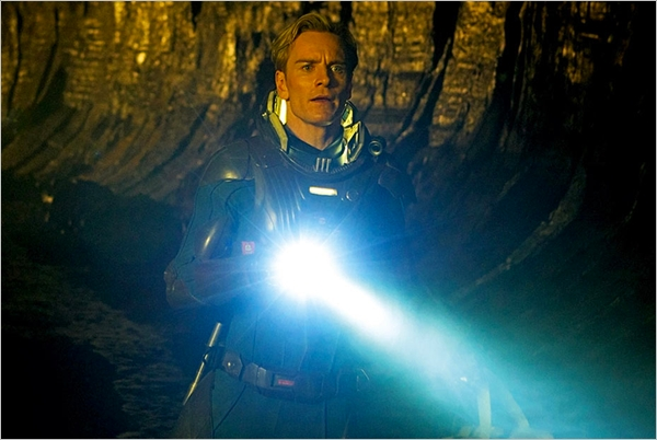 Prometheus Michael Fassbender