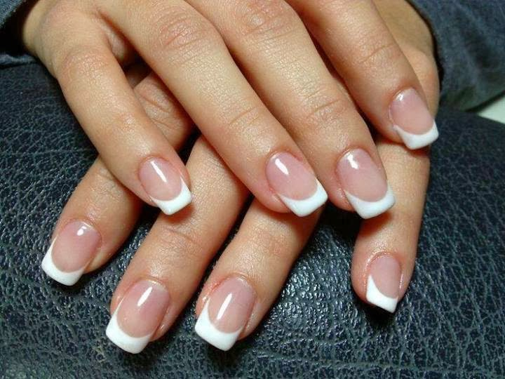 gel backfill then I sharpened up her French smile with a white LED-polish-manicure-OPI-Nail-Polish-Lacquer-Pedicure-care-natural-healthcare-Gel-Nail-Polish-beauty-Acrylic-Nails-Nail-Art-USA-UK14