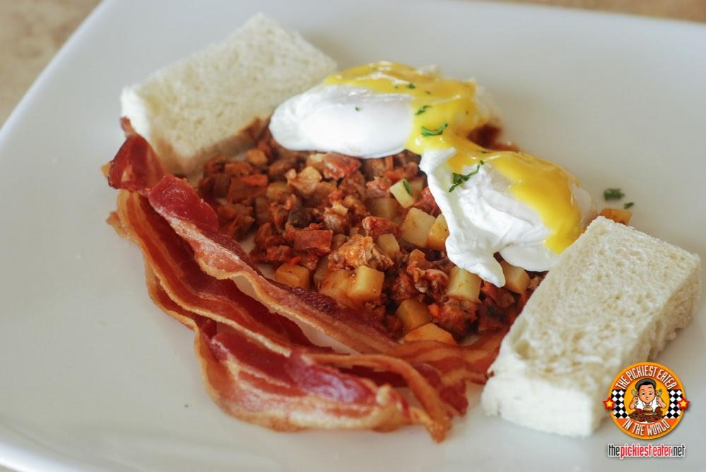 Spanish hash breakfast