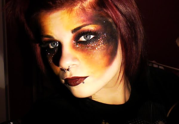 Makeup Ideas fire makeup : Make-up by Bextacy!: February 2011
