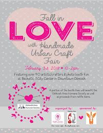 Fall in LOVE with Handmade Urban Craft Fair