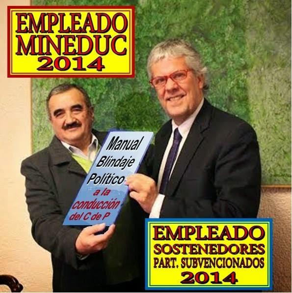 EL MINEDUC ELIGE A SU TENAZ DEFENSOR