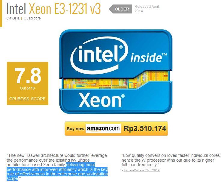 Review_Procie_Intel_Xeon_E3_1231v3