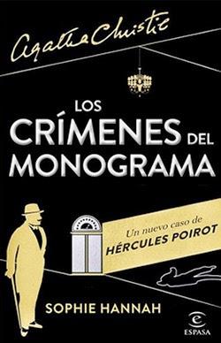 """Portada de """"Los crímenes del monograma"""" , de Sophie Hannah"""