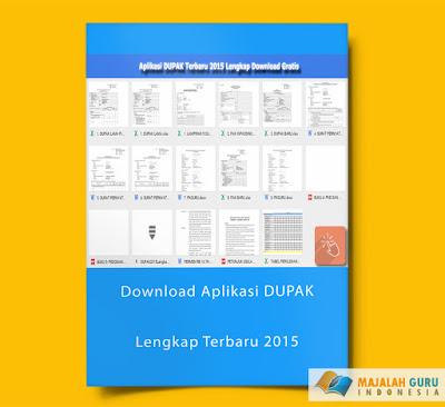 Download Aplikasi DUPAK Lengkap Terbaru 2015