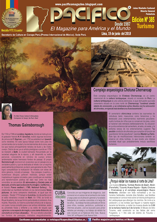 Revista Pacifico Nº 385 Turismo