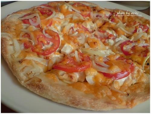 Perpaduan Masakan dalam Pizza Ubi