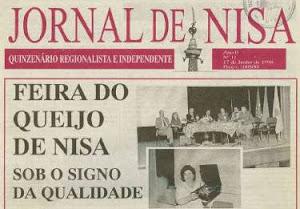 MEMÓRIA DO JORNAL DE NISA - Edição de 11 Jun. 1998