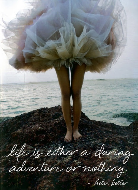 quote, helen keller, tutu, beach