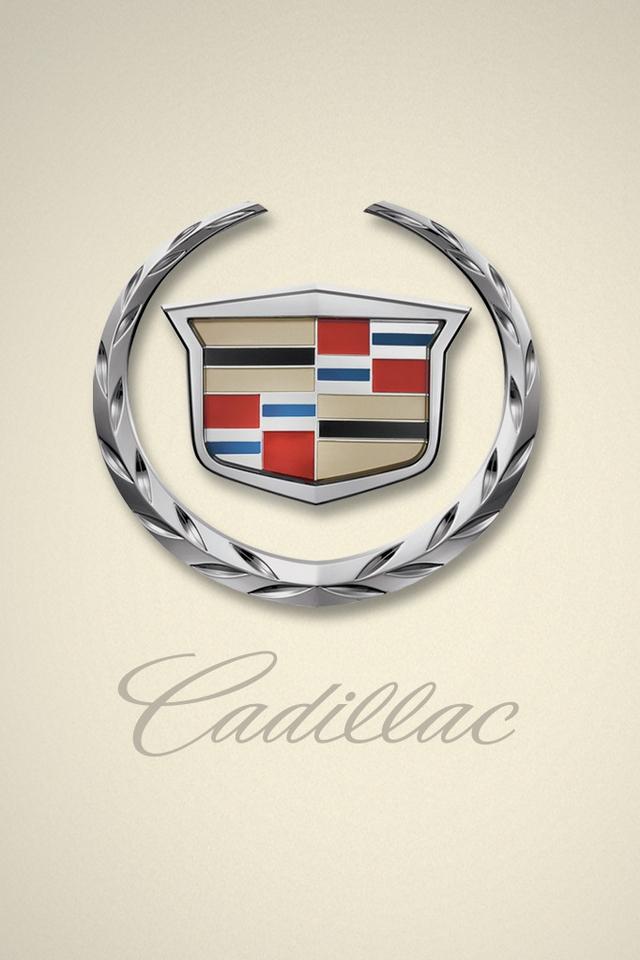 Cadillac Logo Iphone Android Wallpaper