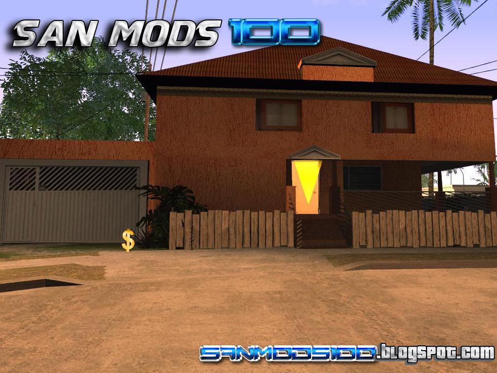 Gta sa casa do cj luxuosa hd v2 for Casa moderna gta sa