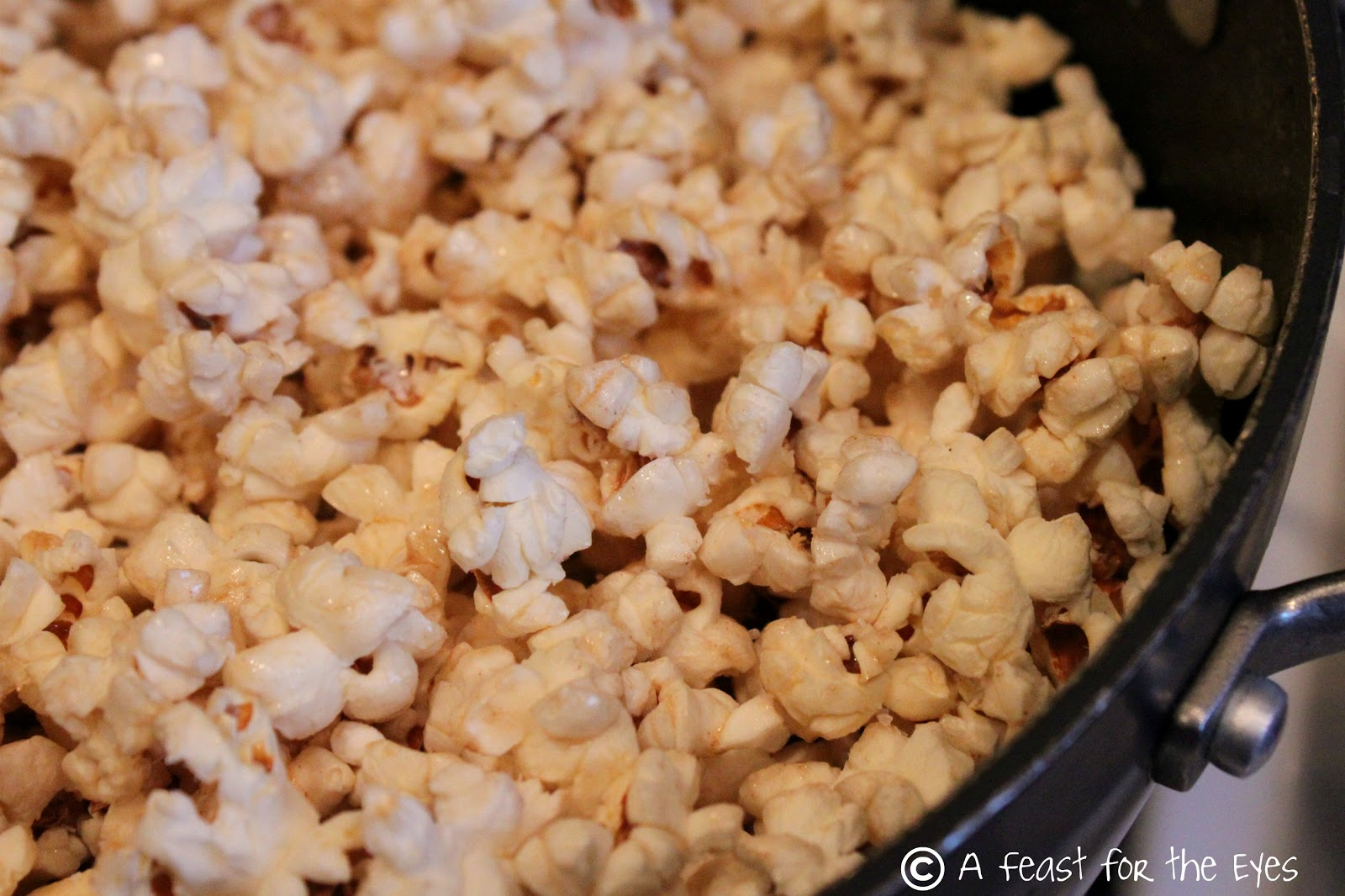 Feast for the Eyes: Perfect Kettle Corn