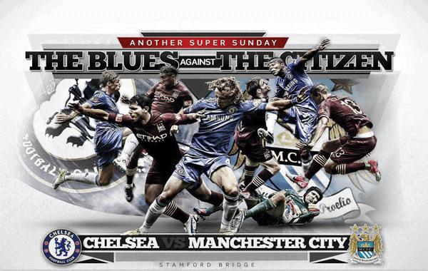 Keputusan Separuh Akhir Piala FA Inggeris 14 April 2013 - Chelsea vs Manchester City