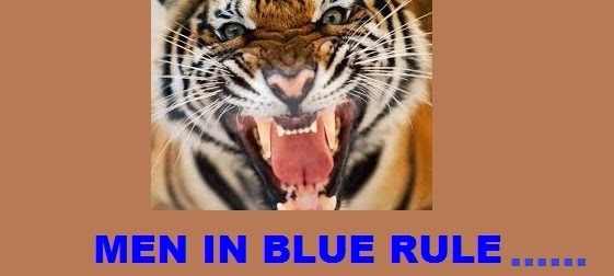 Men in Blue Maul The Tiger