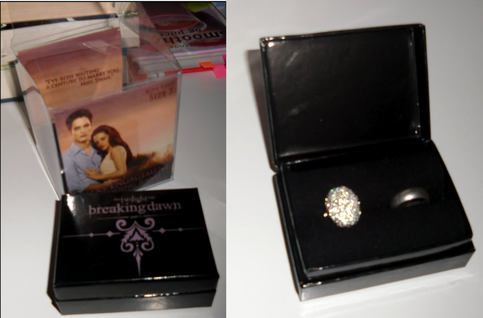 the norwegian bella swan wedding ring and engagement ring