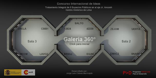 Galería Virtual 360°