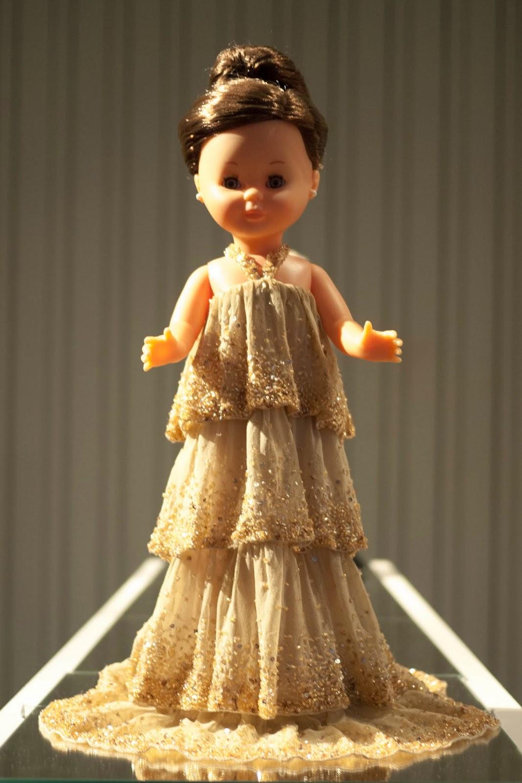 Nancy vestida por Hannibal Laguna