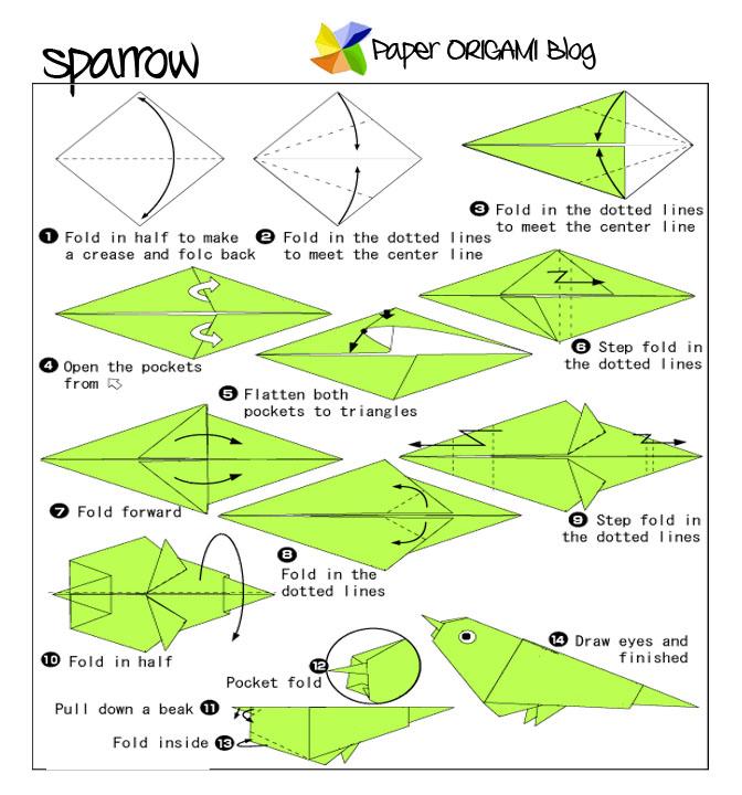 Origami Sparrow