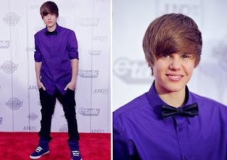 red carpet justin