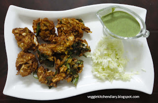 Cabbage Pakoda - Cabbage Fritters