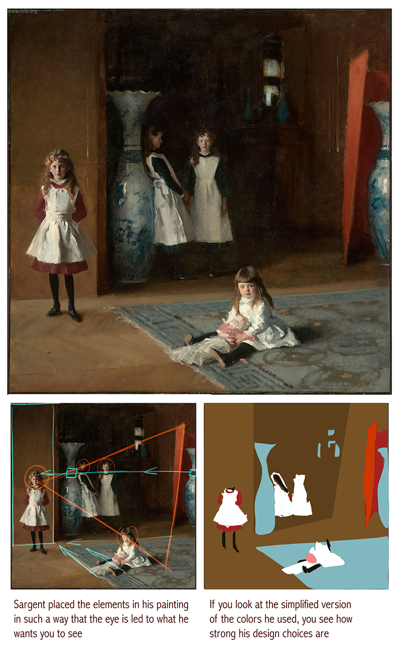 the daughters of edward darley boit essay The spanish master's spell is apparent in sargent's the daughters of edward darley boit, 1882, a haunting interior which echoes velázquez' las meninas sargent's portrait of madame x, done in 1884, is now considered one of his best works, and was the artist's personal favorite eventually sargent sold it to the metropolitan museum of art.